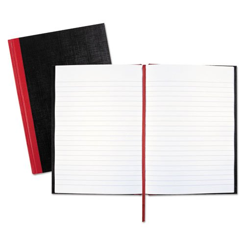 Black n' Red/John Dickinson - Casebound Notebook,Ruled,24 lb,96 Sheets,8-1/4