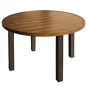 Kozyard Belton - Juego de mesa redonda de 91 cm y 4 sillas