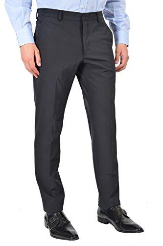 Prada Men's Blue Flat Front Pants US 34 IT 50