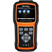 FOXWELL NT520 Pro OBD scanner Diagnostic scanner with All Car Systems scan tool for Engine, Transmission, ABS, Traction control system, Air bag, Steering Assist, Steering, suspension, Chassis and more