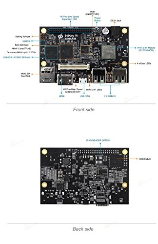 Lemaker Hikey 2GB (96boards.org Supercomputing Design), eight-core 64Bit CPU + High-Power GPU by LeMaker (Image #4)