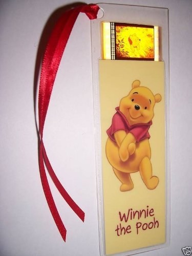 WINNIE THE POOH Movie Film Cell Bookmark memorabilia Compliments poster dvd book