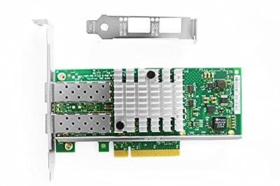 Vogzone for Intel X550-T2 X550-T1 10GB NIC Network Card Dual 10G RJ45 Port