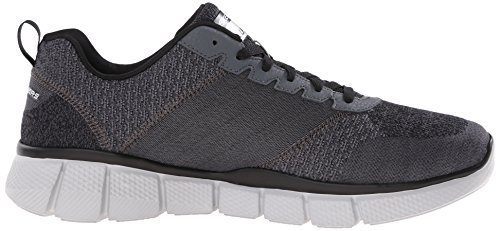 51529 Equalizer Deportivos Negro Zapatillas Skechers Hombre p5vHRqW6W