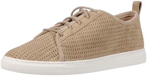 Lucky Brand Women's Lawove Sneaker, Travertine, 7.5 Medium US