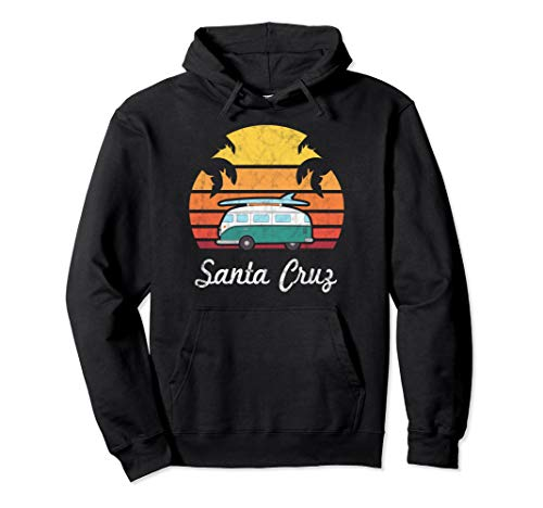 Santa Cruz Souvenir Retro Fun California Men Women Clothing Pullover Hoodie