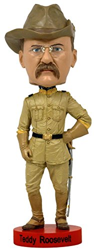 Doll Bobble Head (Royal Bobbles Teddy Roosevelt Bobblehead)