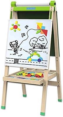 Pizarra madera de tiza y magnética Tablero de dibujo para ...