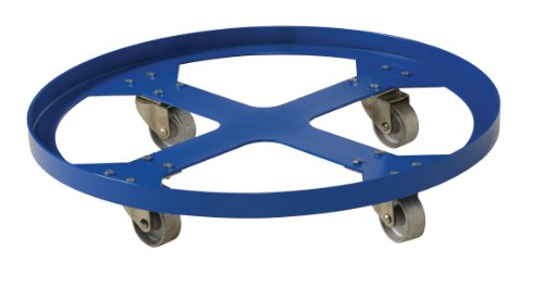 Vestil DRUM-SP-28-12-C Steel Overpack Drum Dolly, 1200 lbs Capacity, 28'' ID x 28-3/8'' OD by Vestil (Image #4)