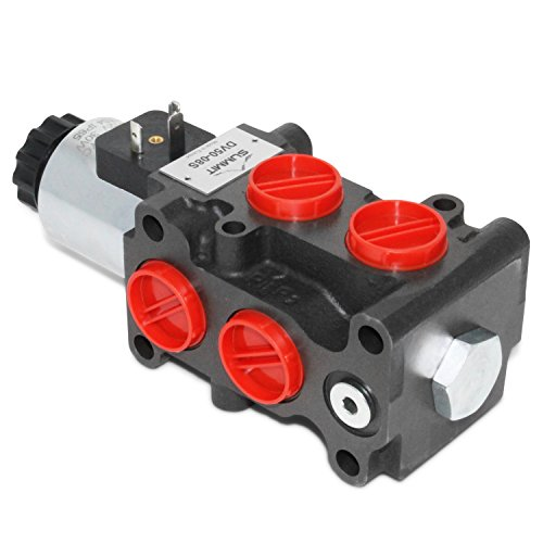 - Hydraulic Solenoid Selector/Diverter Valve, 13 GPM, 12v DC