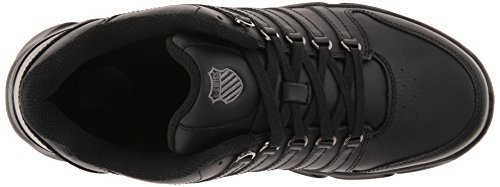 K-Swiss Mens Marcast Sneaker Black/Charcoal