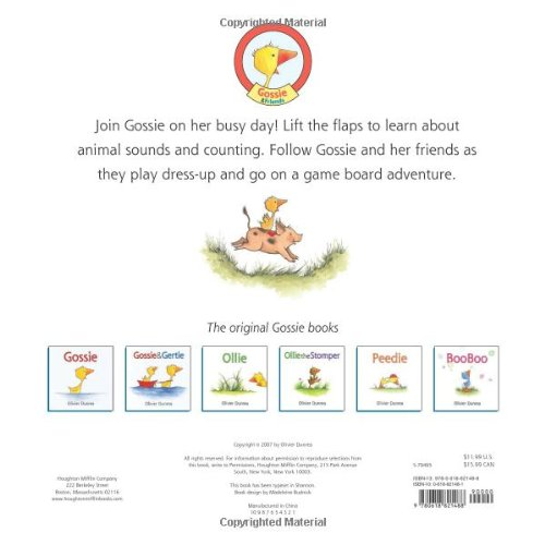 Gossie's Busy Day: A First Tab Book (Gossie & Friends) by HMH Books for Young Readers
