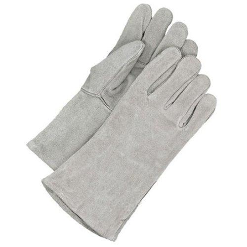 Bob Dale 60-1-7803P Welding Split Leather Glove Size 1 Grey