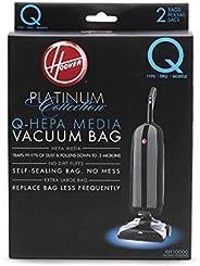 Hoover Platinum Type-Q HEPA Filter Vacuum Cleaner Bag, Part 902419001, for Upright UH30010COM, Pack of 2, AH10