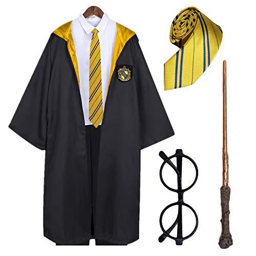 Comprar Capa de Harry Potter + Gafas de Mago Redondas + Varita mágica + Corbata - Tienda Online Disfraces - Envíos Baratos o Gratis