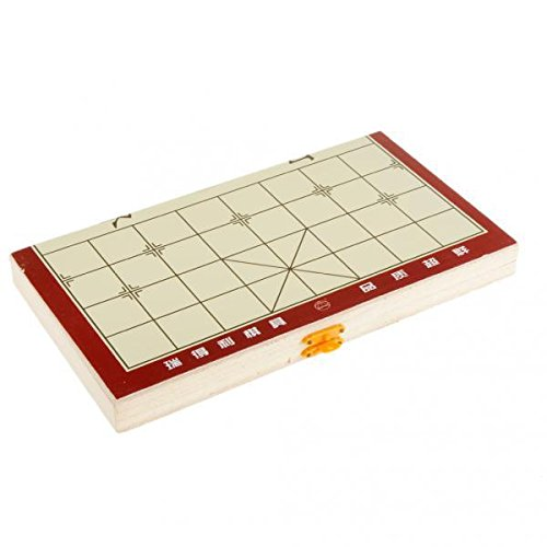 Kesoto 2セット 木製 将棋 中国将棋 折り畳み式 便利 プレゼント 贈り物の商品画像