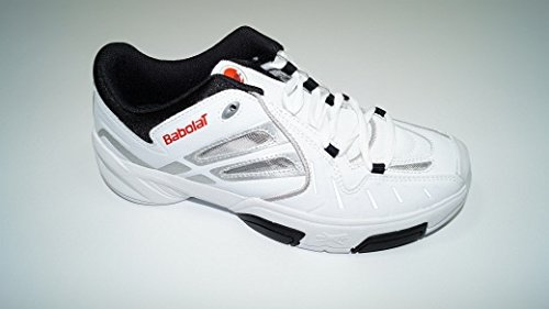 Babolat Pure Indoor II Man Tennis Shoes White/Silver/Black
