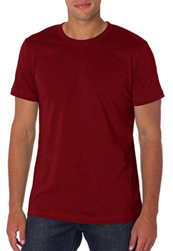 Bella-Canvas C3001 Unisex Jersey Short Sleeve Tee, Maroon - Medium