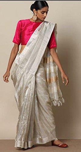 774ff96ee3d Indian Weavers Lounge Women s Tissue Saree (IWLMPN1099