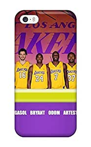 Fashion Case Awesome Los Angeles Lakers Nba Basketball Flip case cover With SfwcwBDbBUq Fashion Design For Iphone 6 4.7