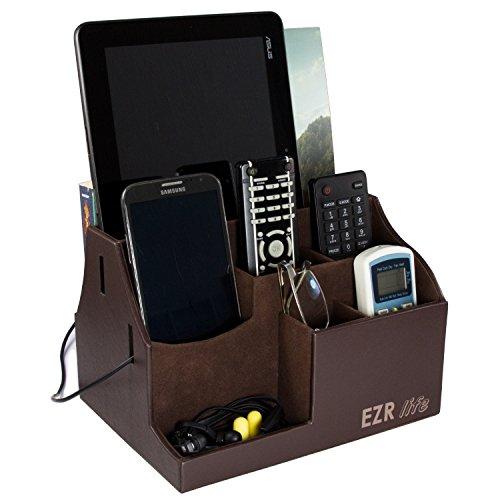 EZR life All-in-One Remote Control Holder, Caddy, Organiz...