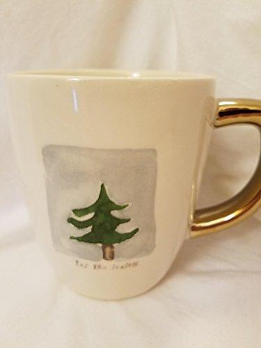 Tis the Season Rae Dunn christmas Tree Mug