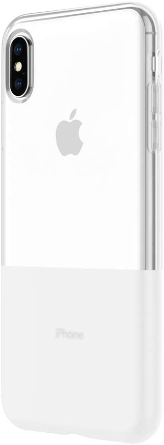 """Incipio NGP Translucent Case for iPhone iPhone Xs Max (6.5"""") with Flexible Shock-Absorbing Drop-Protection - Clear"""