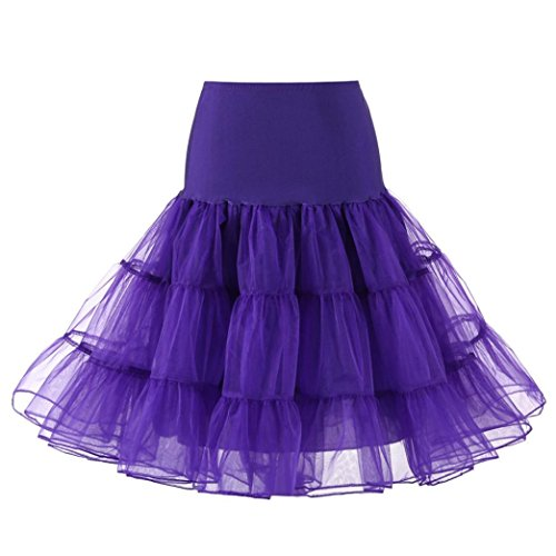 VEZAD High Waist Pleated Short Skirt Womens Adult Tutu Dancing (Purple Corduroy Skirt)