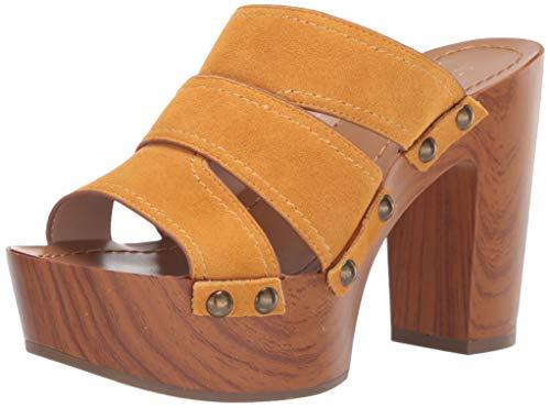 BCBGeneration Women's Zadie Platform Sandal Wedge, Sun, 9.5 M US