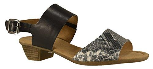 Gabor 4247451 - Sandalias de vestir de Piel para mujer Negro - negro