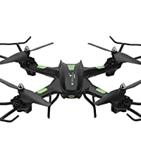 RC TOYS, Yamally_9R S5 RC Helicopter Warrior Drone Quadcopter with 2MP HD Came (Black)