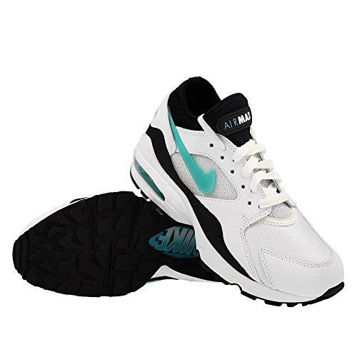 Nike Air Max 93 Dusty Cactus - 306551-107 - White/Sport Turq-Black