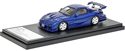 INTERALLIED Hi Story 1/43 Mazda RX-7 Mazdaspeed R Spec 2000 Innocent Blue Mica