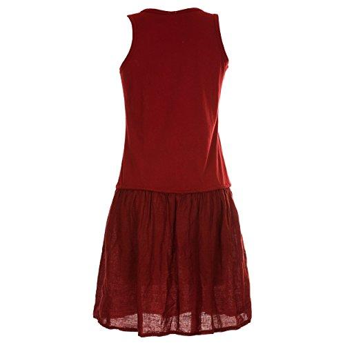 VialeScarpe - Vestido - para mujer Rojo