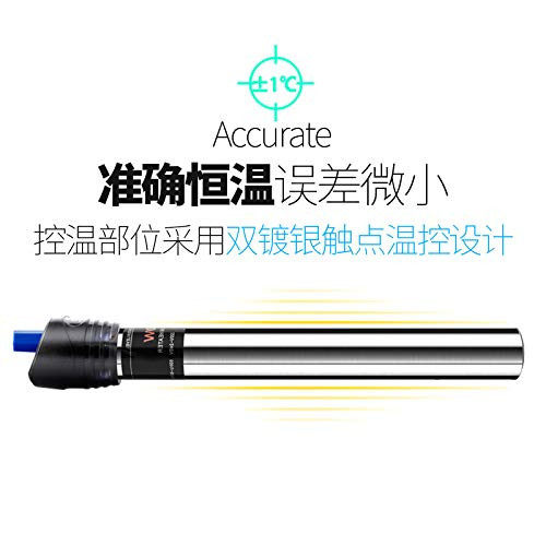 - YEE Proof Stainless Steel Heating Rod Cylinder Automatic Thermostat Turtle Aquarium Tank Heater Heating rods Small