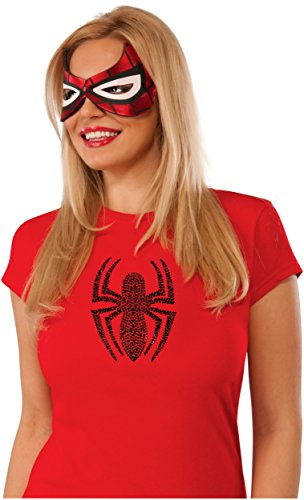 Rubie's Costume Co Women's Marvel Universe Spider-Girl Eyemask, Multi, One Size