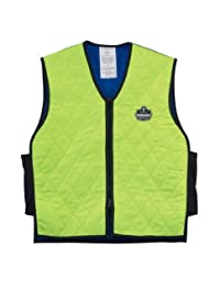 Chill-Its 6665 Evaporative Cooling Vest - Lime, Medium