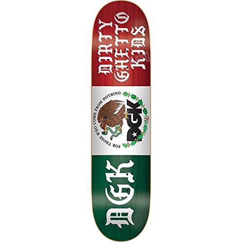 八建築家フランクワースリースケートボードデッキDGKの紋章-8.06デッキ – Assembled as complete skateboard
