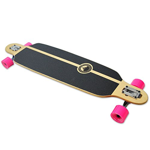 Yocaher Spirit Lion Longboard Complete Skateboard Cruiser – Available in All Shapes