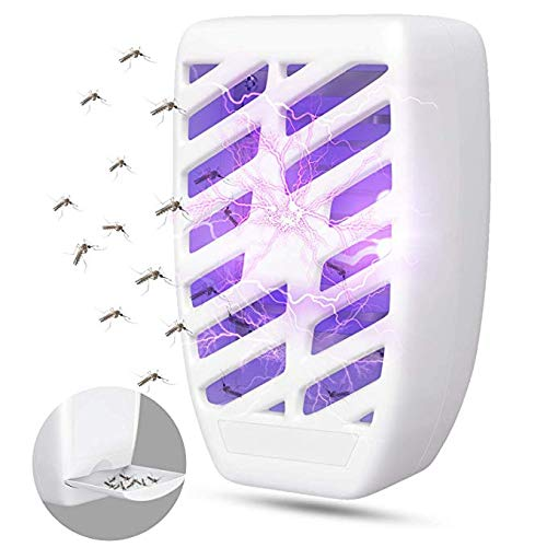 Athemo Bug Zapper Plug-in - Electronic Insect Killer, Mosquito Trap with UV Light, Indoor Fly Pests Catcher Lamp