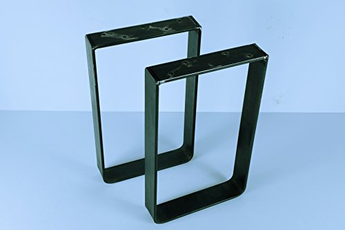 28'' Tall X 20'' Wide Square Table Legs, Set of Two (2) (Steel) by Garden Gizmos LLC