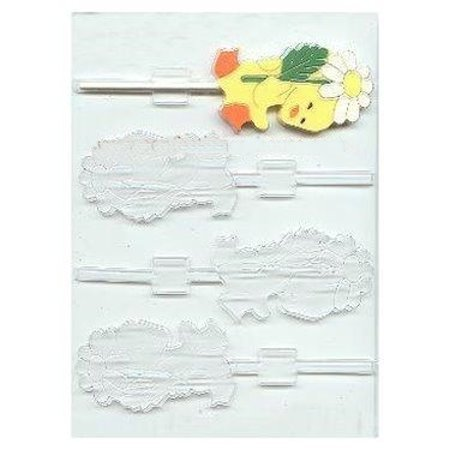 Daisy Pop Candy Molds - Duck With Daisy Pop Candy Molds