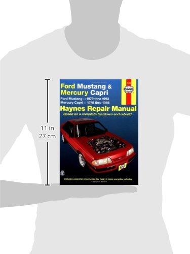 ford mustang mercury capri 79 93 haynes automotive repair rh amazon co uk Haynes Repair Manual Spark Plugs Haynes Repair Manual 1991 Honda Civic