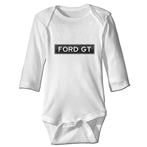 Ford GT Logo Long Sleeve Baby Onesies Bodysuit Baby Outfits Jumpsuit