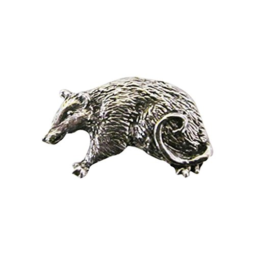 Peint à la main ~ Native Wolf ~ Pin's (épinglette/Broche ~ mp043
