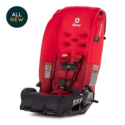 Diono Radian 3R Convertible Car Seat, Red
