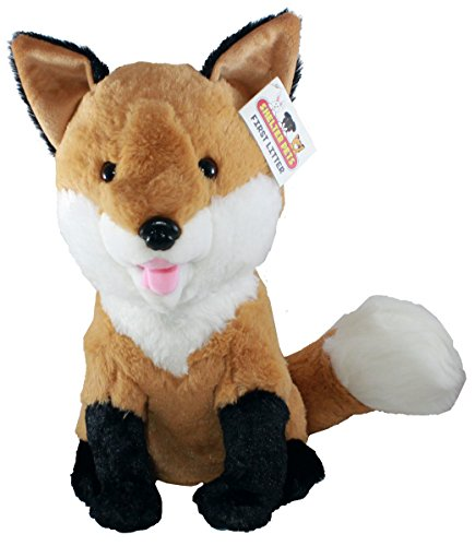 "Shelter Pets Stuffed Animals: Tod The Red Fox - 10"" Plush Toy - Based on Real-Life Adopted Pets - Benefiting The Animal Shelters They were Adopted from - Foxie Toy Plushie"