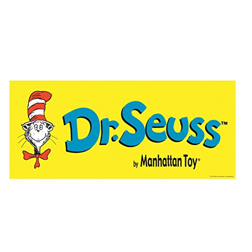 "Manhattan Toy Dr. Seuss Cat in the Hat 9"" Soft Plush Toy"