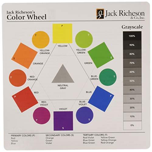 Jack Richeson Small Color Wheel 30 Pk, 7 X 7