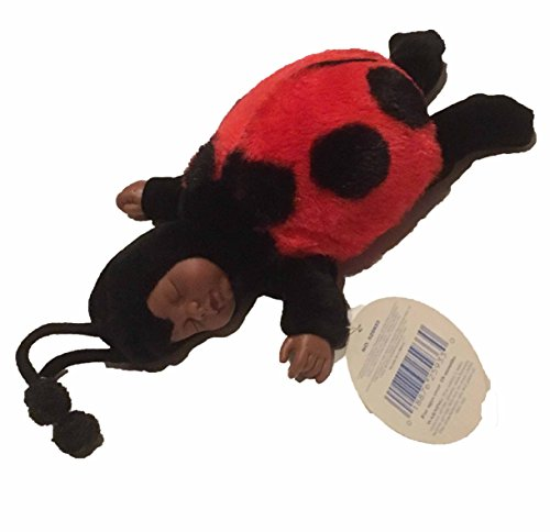 Baby African American Ladybug by Anne Geddes Bean Filled Collection 9